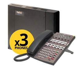 view all dsx phone packages NEC DSX Systems NEC 1091015M