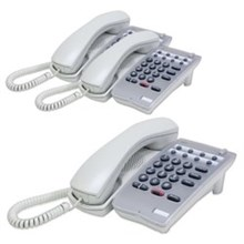 NEC Analog Corded Phones 780026 3pack