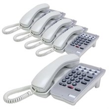 NEC Analog Corded Phones 780026 5pack