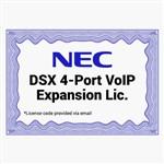NEC 1091046 DSX 4-Port VoIP Expansion License