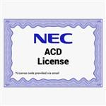 NEC 1100091 ACD License 84112-5
