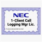 NEC 1101119 Digital Call Logging Manager License