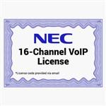 NEC 1100082 16-Channel VoIP License