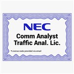 NEC 1101115 Comm Analyst Traffic Analysis License